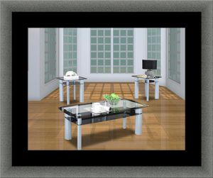 3pc glass coffee table for Sale in Herndon, VA