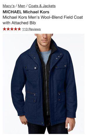 7d419354cff1 Michael Kors Men s Wool-Blend Field Coat for Sale in Renton