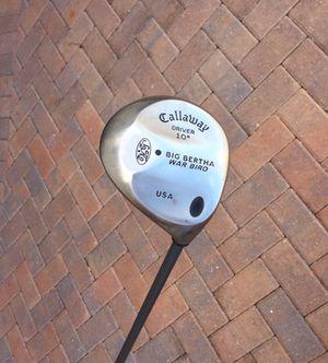 "reduced-CALLAWAY BIG BERTHA WAR BIRD 10° DRIVER GRAPHITE SHAFT 44.5"" golf clubs for Sale in North Venice, FL"