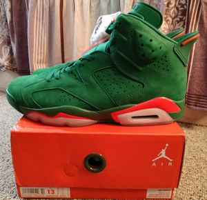 34e66d9ec93453 Air Jordan 6 Retro Green Gatorade Size 13 for Sale in Chamblee