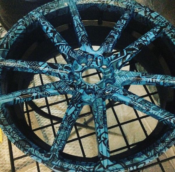 Custom Hydro Dipped 20 Inch Rims For Sale In Anaheim Ca Offerup