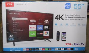 """TCL 55S403 55"""" 4K UHD HDR Roku Smart TV 120hz 2160p *FREE DELIVERY* for Sale in Newcastle, WA"""