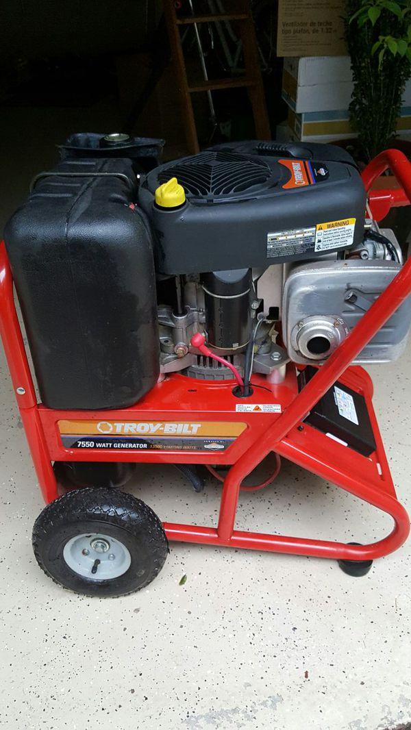 13500/7550 Troy-Bilt Portable Generator for Sale in Longwood