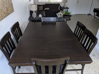 6 Chairs  Dining Table Thumbnail