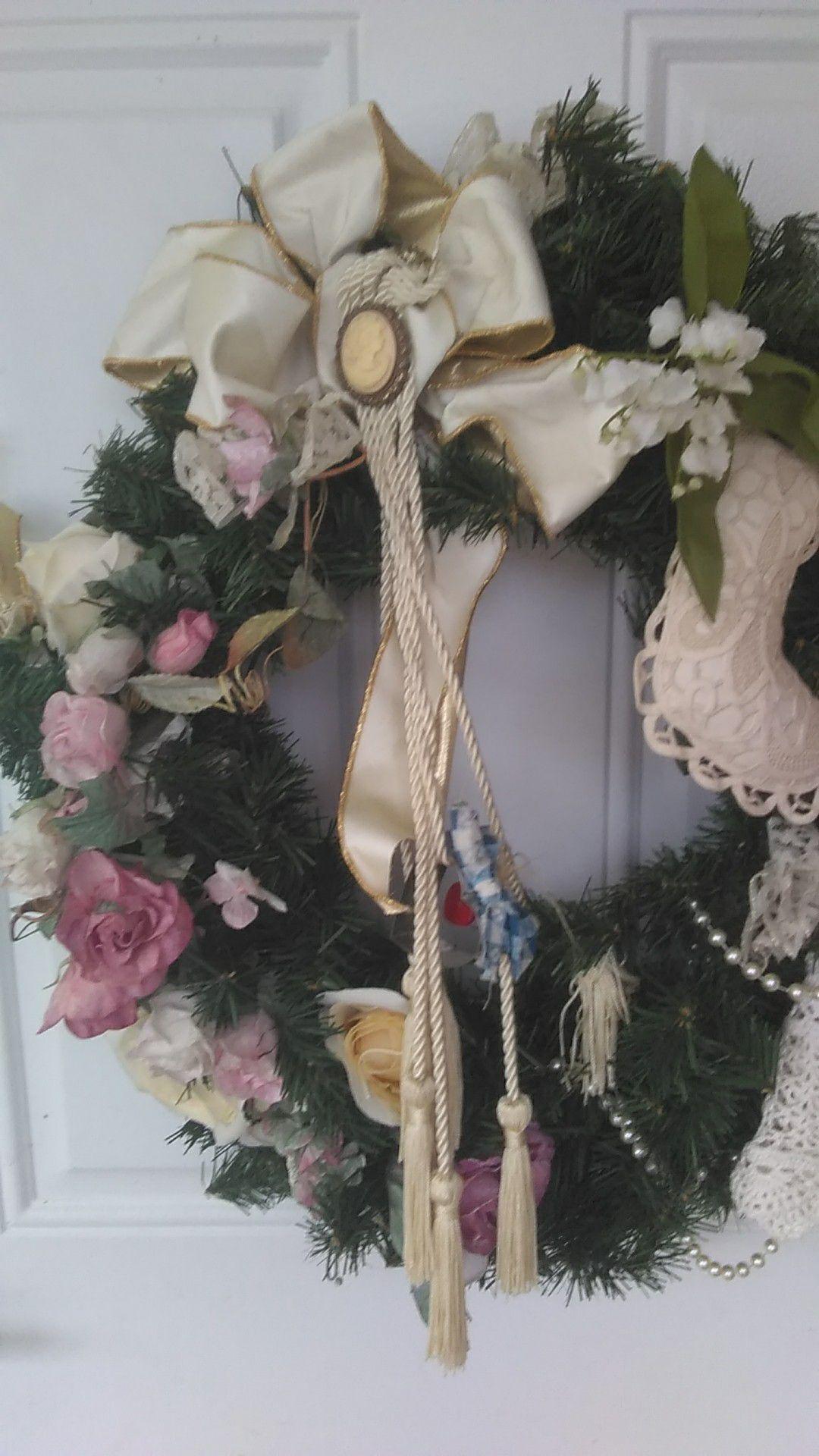 Home made Wreath.
