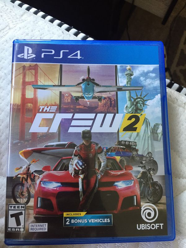 the crew 2 ps4 for sale in pinole ca offerup. Black Bedroom Furniture Sets. Home Design Ideas