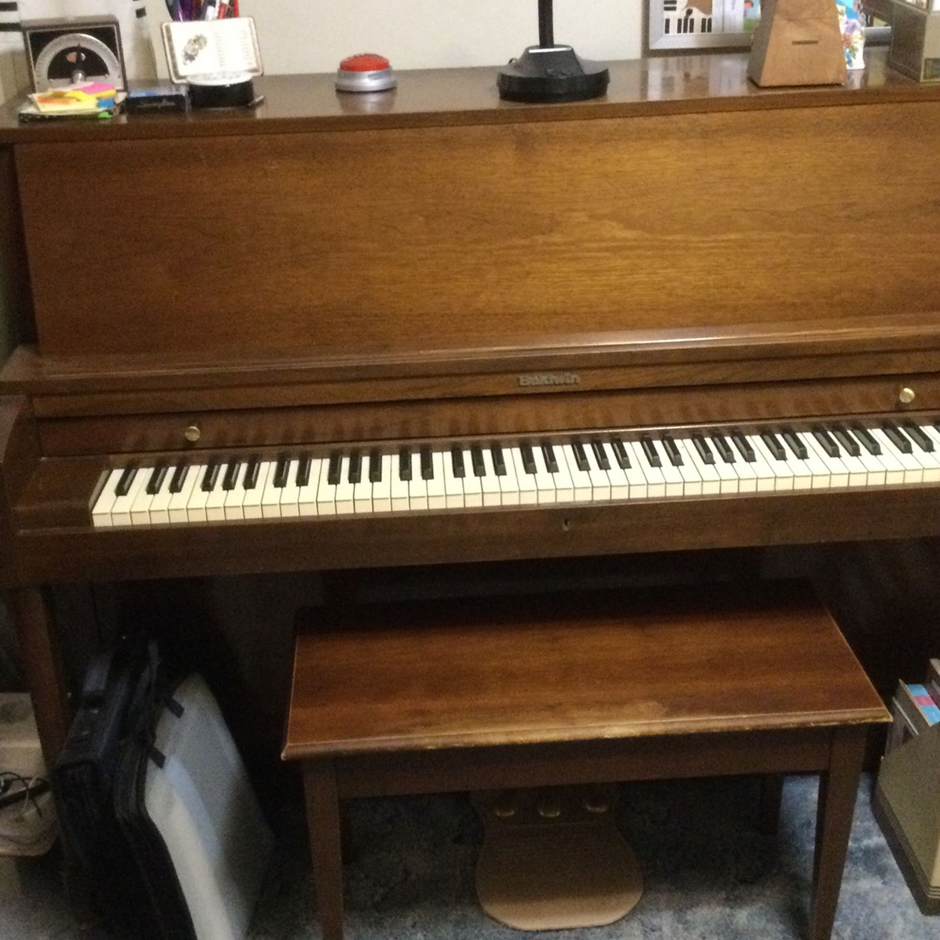 Baldwin Studio Piano, Meticulously Maintained Professionally .