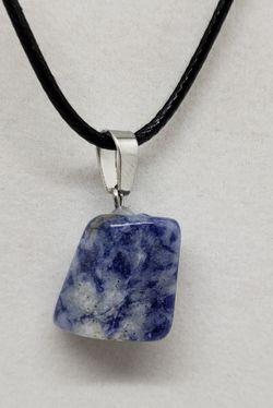 Natural Lapis Lazuli Necklace Thumbnail