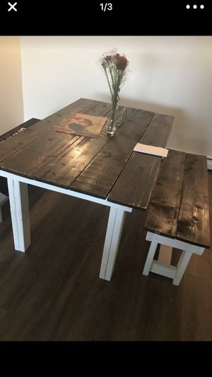$350 handmade kitchen table for Sale in Randolph, MA