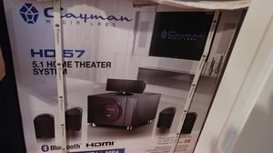 Cayman 5.1 Home Theater System for Sale in Charles Town, WV