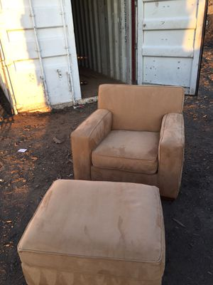 Chair and ottoman for Sale in Vienna, VA