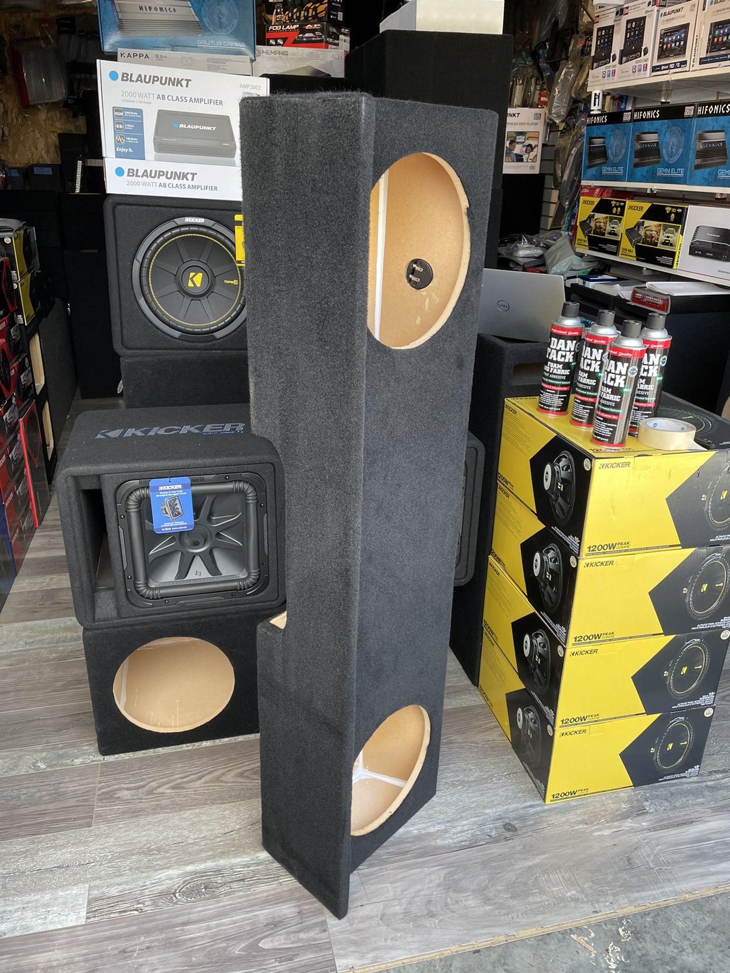Speaker Box Silverado/Sierra Extra Cab 99-06