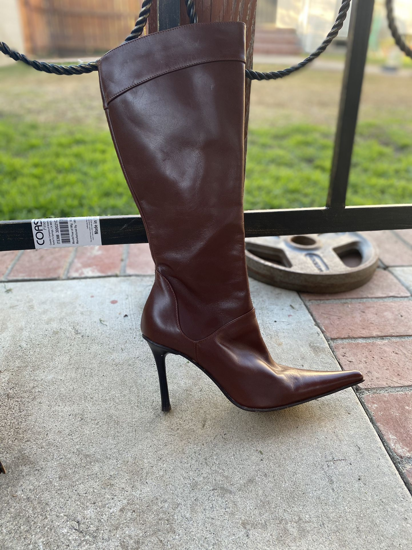 Andrew Steavens Leather Boots Made In Italy