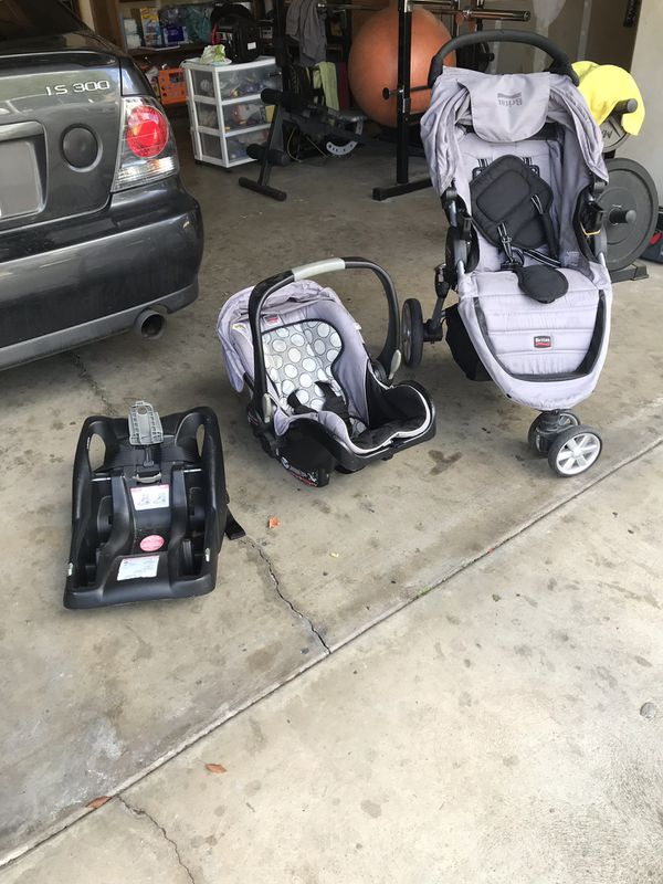 Britax Car Seat and Stroller Combo for Sale in Fresno, CA ...