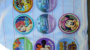 8 Collectible Disney Button / Pins for Sale in Sanger, CA