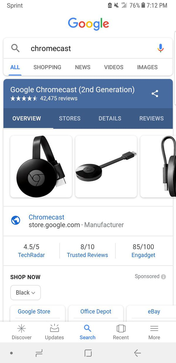 New and Used Chromecast for Sale in Waukegan, IL - OfferUp