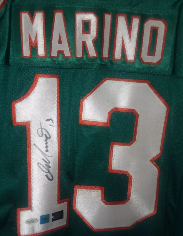 low priced e616a 4801e Dan Marino autographed/signed Dolphins Wilson jersey NFL man cave for Sale  in Pico Rivera, CA - OfferUp