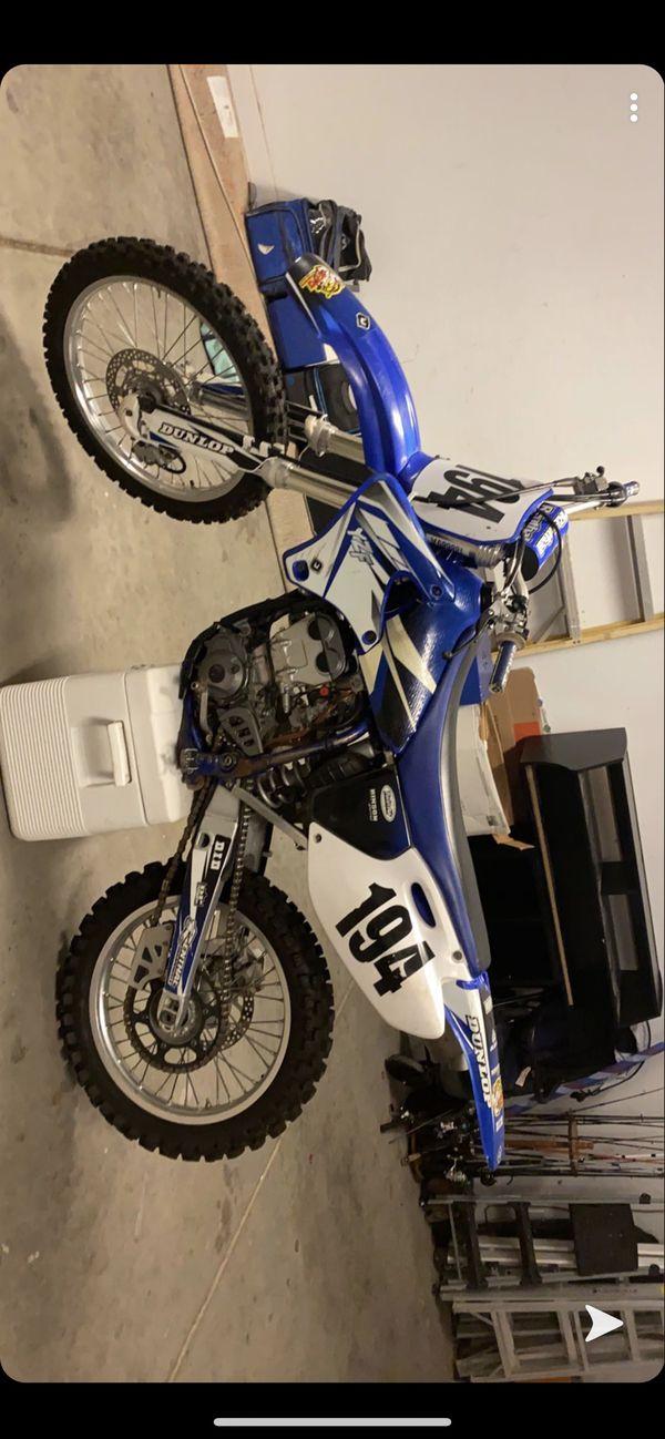 Buy 2002 Yamaha YZF250 four stroke on 2040-motos