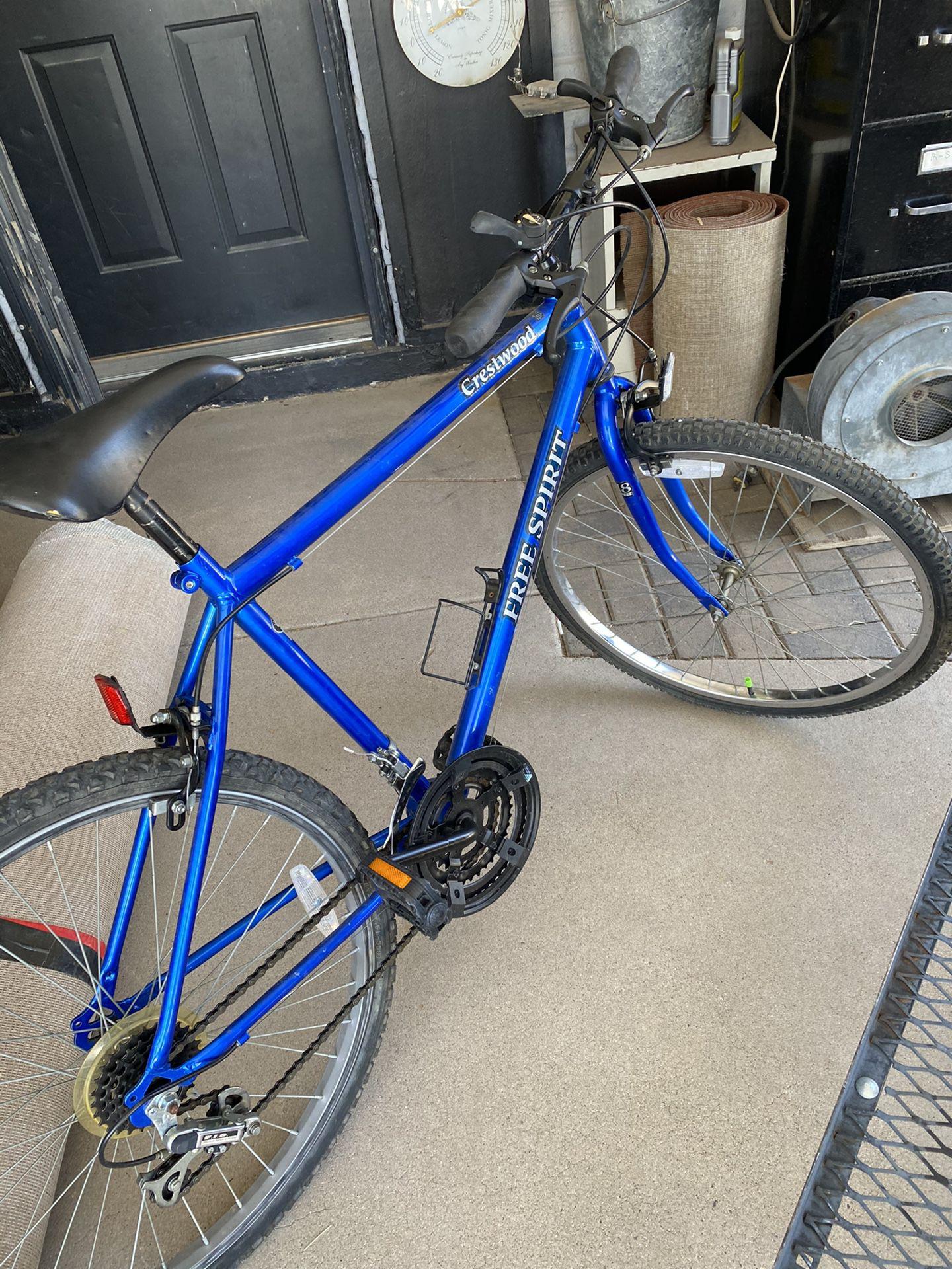 18 speed free Spirit Mountain bike