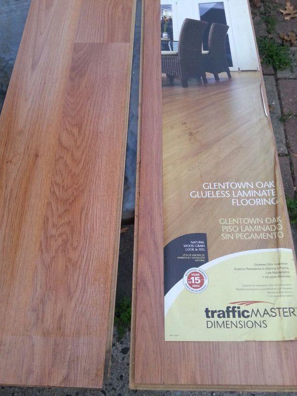 Traffic Master Glentown Oak 7mm Thick X, Glentown Oak Laminate Flooring