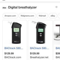 Digital BAC Track Select Breathalyzer Thumbnail