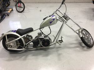 Photo Mini chopper motorbike mini bike