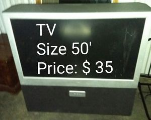 TV 50' (price on the picture!) for Sale in Las Vegas, NV