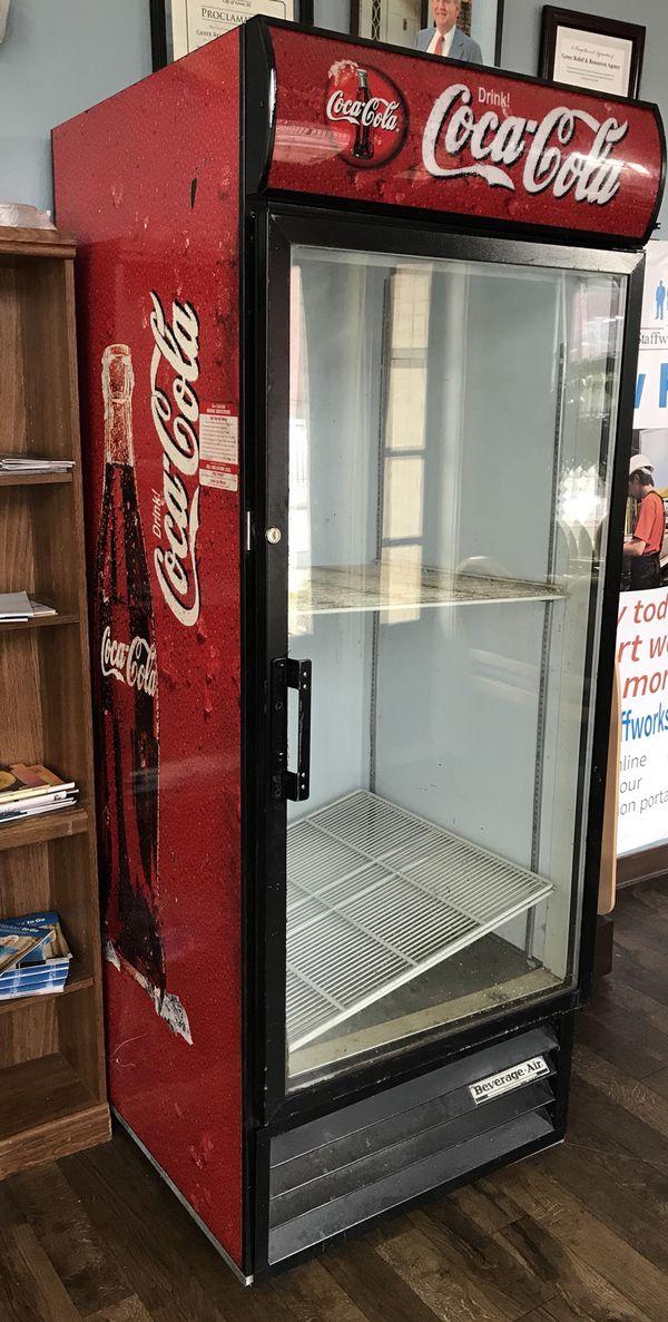 Coca Cola Glass Door Refrigerator For Sale In Greer Sc Offerup