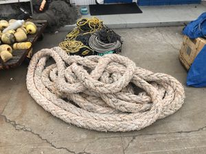 100' huge decorative rope for Sale in San Diego, CA