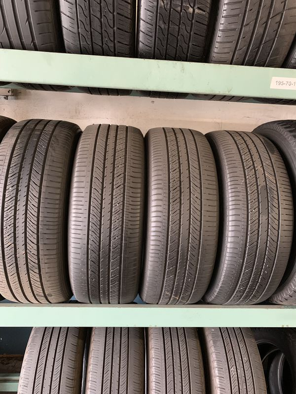 Used Tires San Jose >> 4 Used Goodyear Tires 2455020 25 Each For Sale In San Jose Ca Offerup