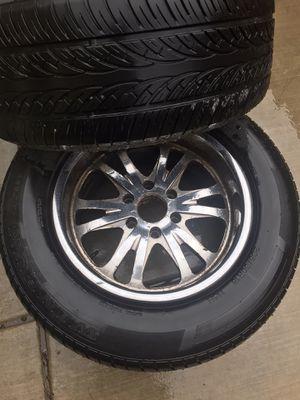 Photo Chevy suburban/Tahoe wheels/tires