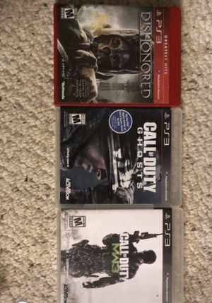 3 ps3 games for Sale in Burke, VA