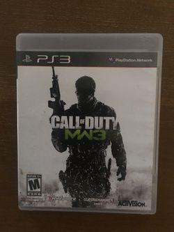 Sony PlayStation ps3 call of duty modern warfare 3 Thumbnail