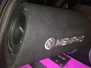 Photo Memphis and jbl 8 subs in cannon boxes w/ amps + 1 Xtra amp