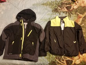 Boys winter coat with detachable light weight fleece coat for Sale in Buckingham, VA