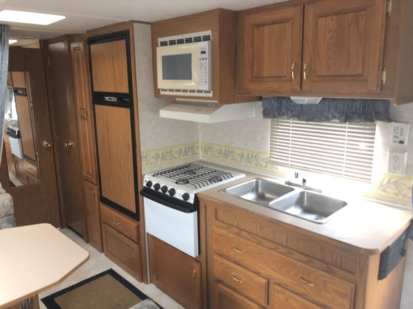 Travel Trailers For Sale Puyallup Wa >> 2001 Jayco Eagle travel trailer bunkhouse like new for Sale in Puyallup, WA - OfferUp
