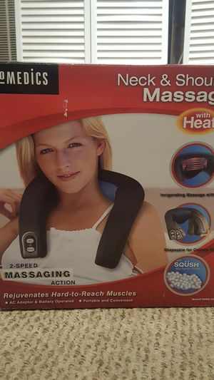 Brand new neck & shoulder massager with heat from HOMEDICS for Sale in Potomac Falls, VA