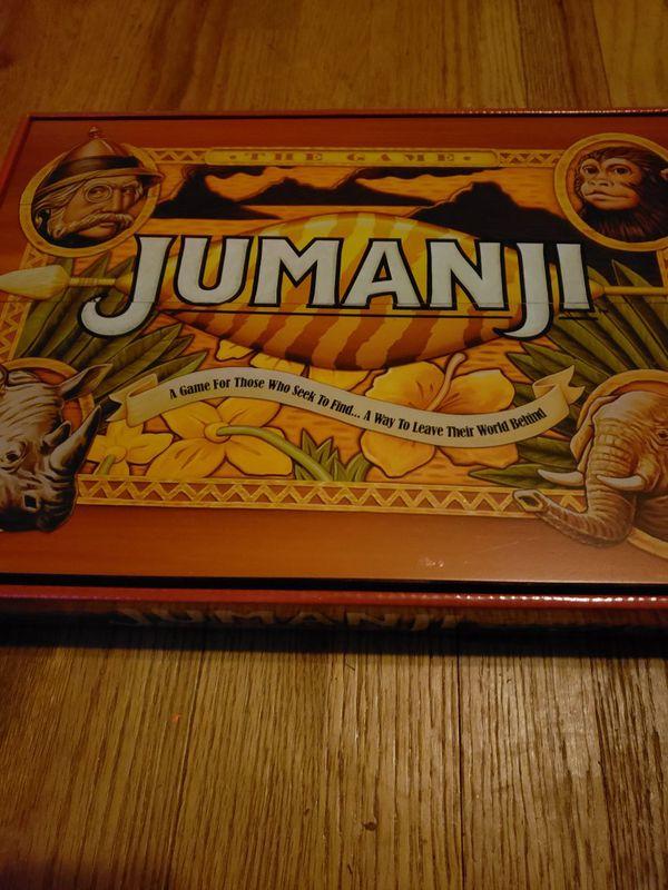 Jumanji Board Game For Sale In Woodleaf Nc Offerup