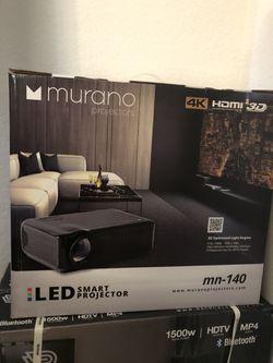 4K smart projector Thumbnail