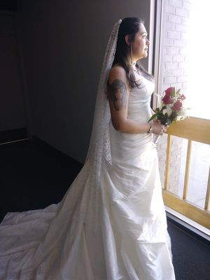 Photo Wedding dress size 12