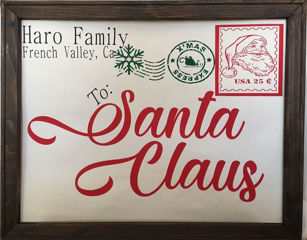 2c3a767913748 Personalized Santa Canvas Envelopes for Sale in Murrieta, CA - OfferUp