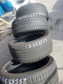 Continental tires back 255 3519 and front 235 35219 Thumbnail
