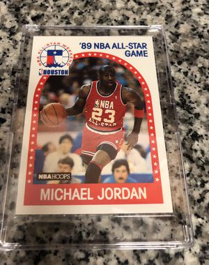Photo Michael Jordan 1989 NBA Hoops Basketball Card - 3 available