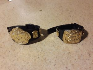 WWE belts for action figures for Sale in Commerce City, CO
