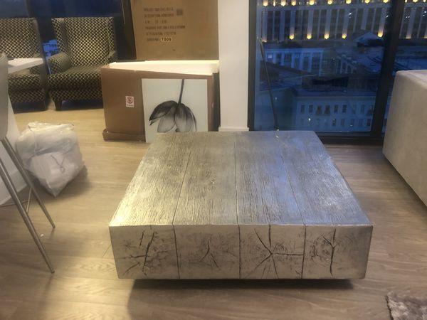Z Gallerie Coffer Table Retail 899 For Sale In Atlanta