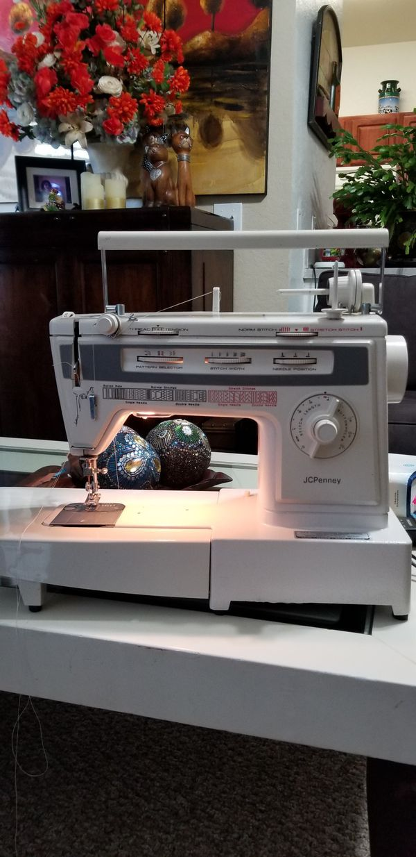 Jcpenney Sewing Machine Model 40 For Sale In Vero Beach FL OfferUp Gorgeous Jcpenney Sewing Machine