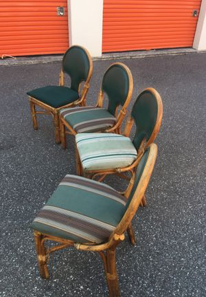 Bamboo chairs for Sale in Tampa, FL