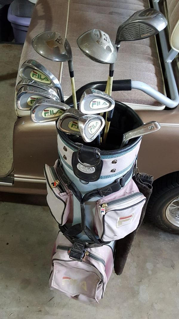 6780634fe64a USES FILA LADIES OVERSIZE GOLF CLUBS IN GREAT CONDITION for Sale in ...