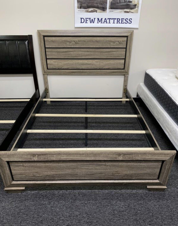 Brand new modern queen bed