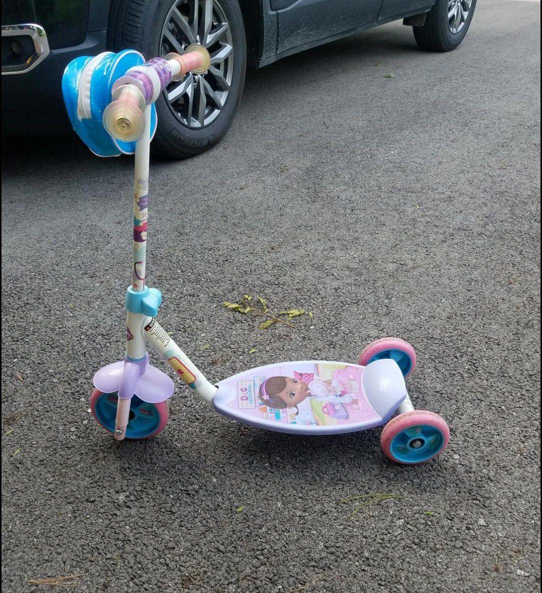 Doc Mcstuffins scooter